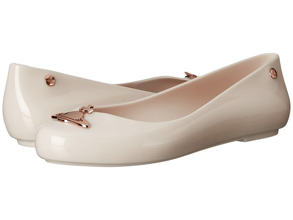 Vivienne Westwood - Anglomania + Melissa Space Love (White/Rose Gold) Women