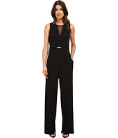 Vince Camuto - Illusion V-Neck Sleeveless Jumpsuit