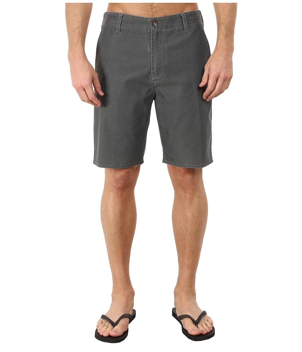 VISSLA Boneyard Hybrid Walkshorts Grey Mens Shorts