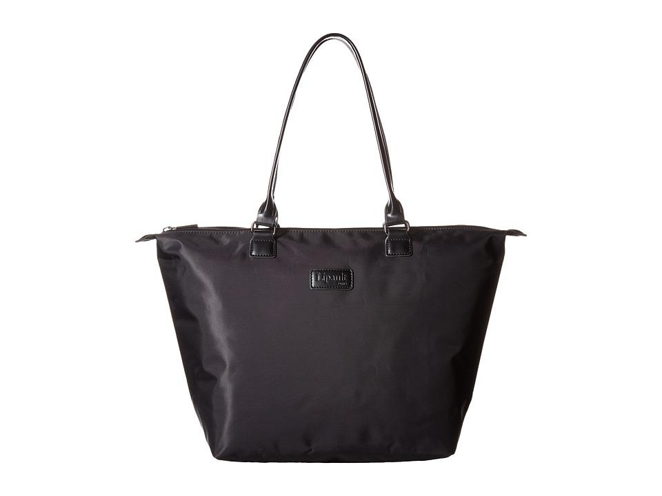 Lipault Paris Shopping Tote M Black Tote Handbags