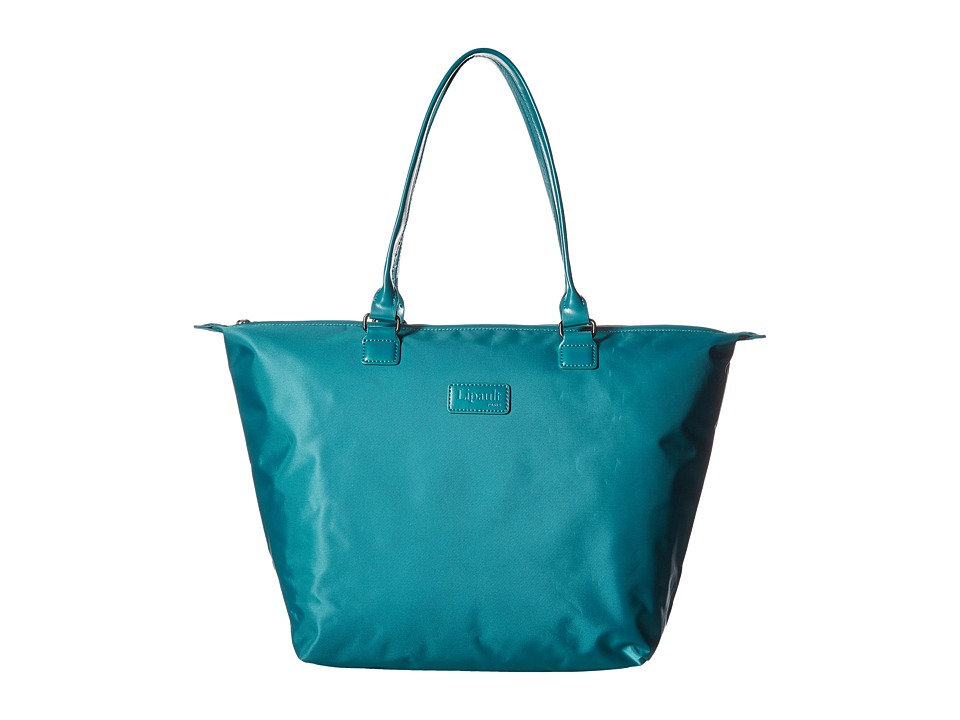 Lipault Paris - Shopping Tote (M) (Aqua) Tote Handbags