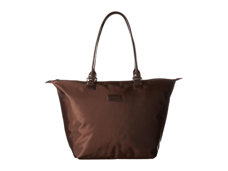 Lipault Paris Shopping Tote M Espresso Tote Handbags