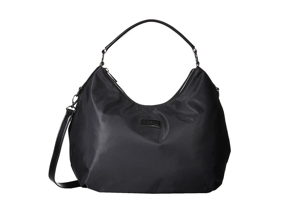 Lipault Paris - Hobo Bag (M) (Black) Hobo Handbags
