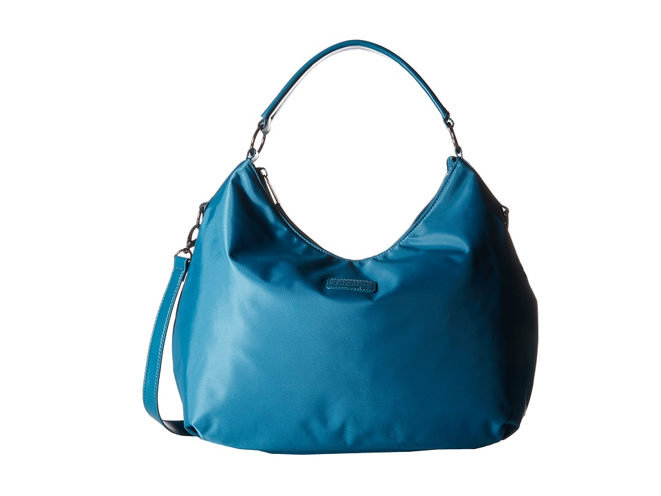 Lipault Paris - Hobo Bag (M) (Aqua) Hobo Handbags