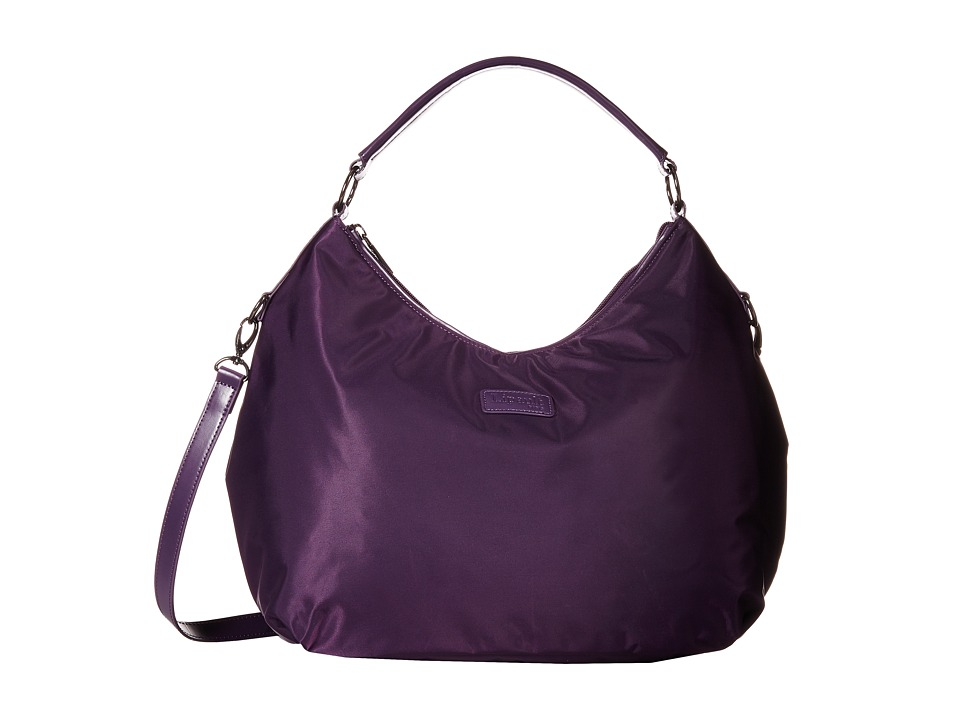 Lipault Paris - Hobo Bag (M) (Purple) Hobo Handbags
