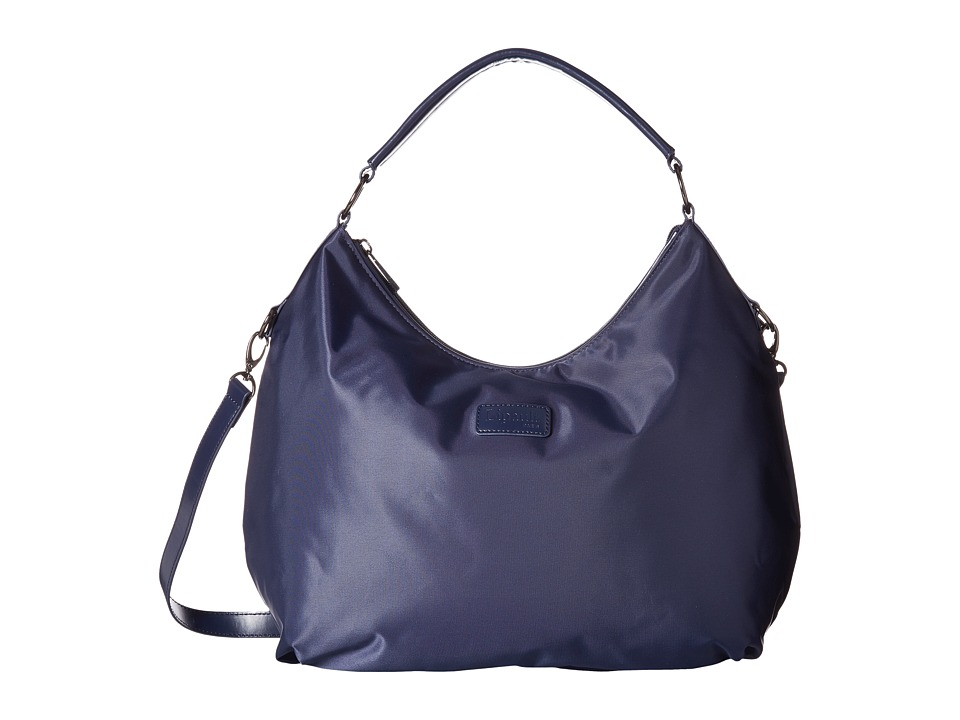 Lipault Paris - Hobo Bag (M) (Navy) Hobo Handbags