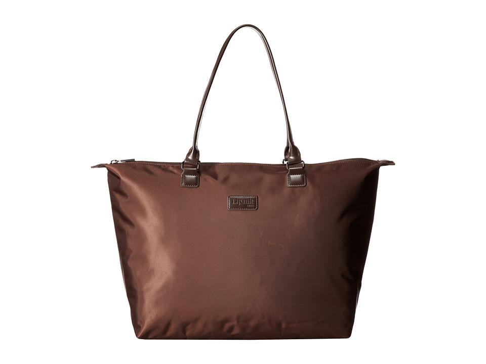 Lipault Paris - Shopping Tote (L) (Espresso) Tote Handbags