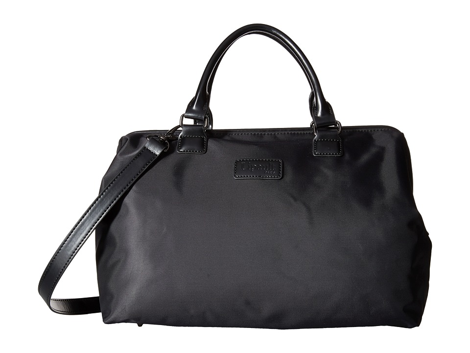 Lipault Paris Bowling Bag M Black Duffel Bags