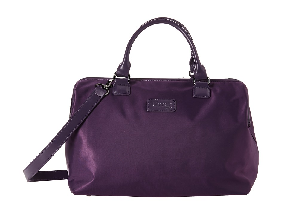 Lipault Paris Bowling Bag M Purple Duffel Bags