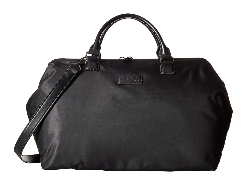 Lipault Paris Bowling Bag L Black Duffel Bags