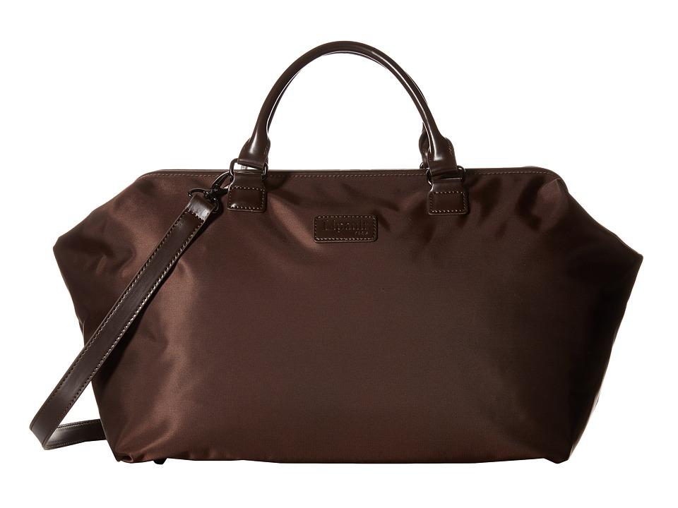 Lipault Paris Bowling Bag L Espresso Duffel Bags