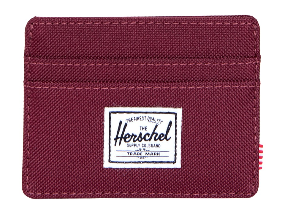 Herschel Supply Co. - Charlie (Windsor Wine) Credit card Wallet