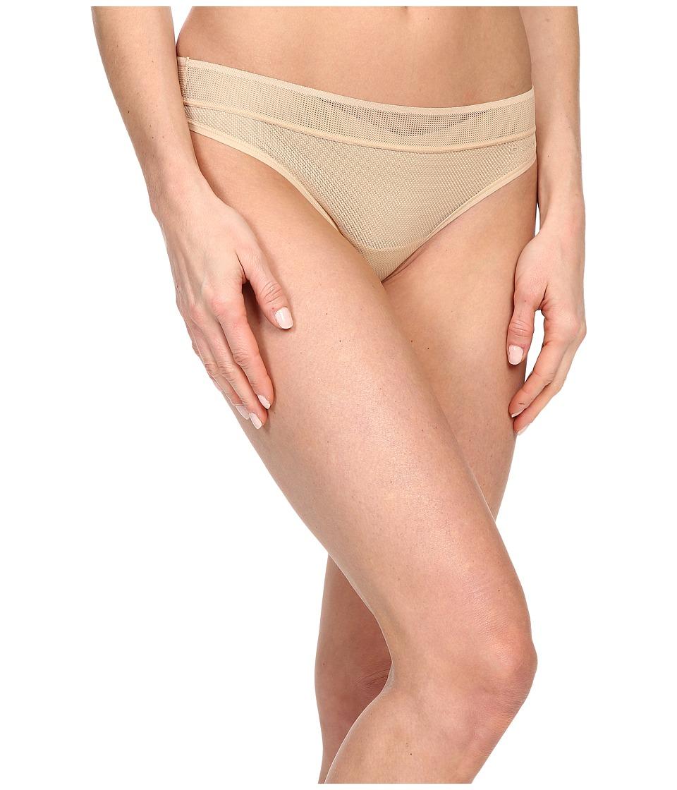 DKNY Intimates Signature Thong Skinny Dip Fishnet Womens Underwear