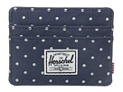 Herschel Supply Co. Charlie (Navy Embroidery Polka Dot)