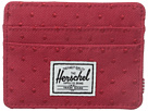 Herschel Supply Co. Charlie (Red Embroidery Polka Dot)