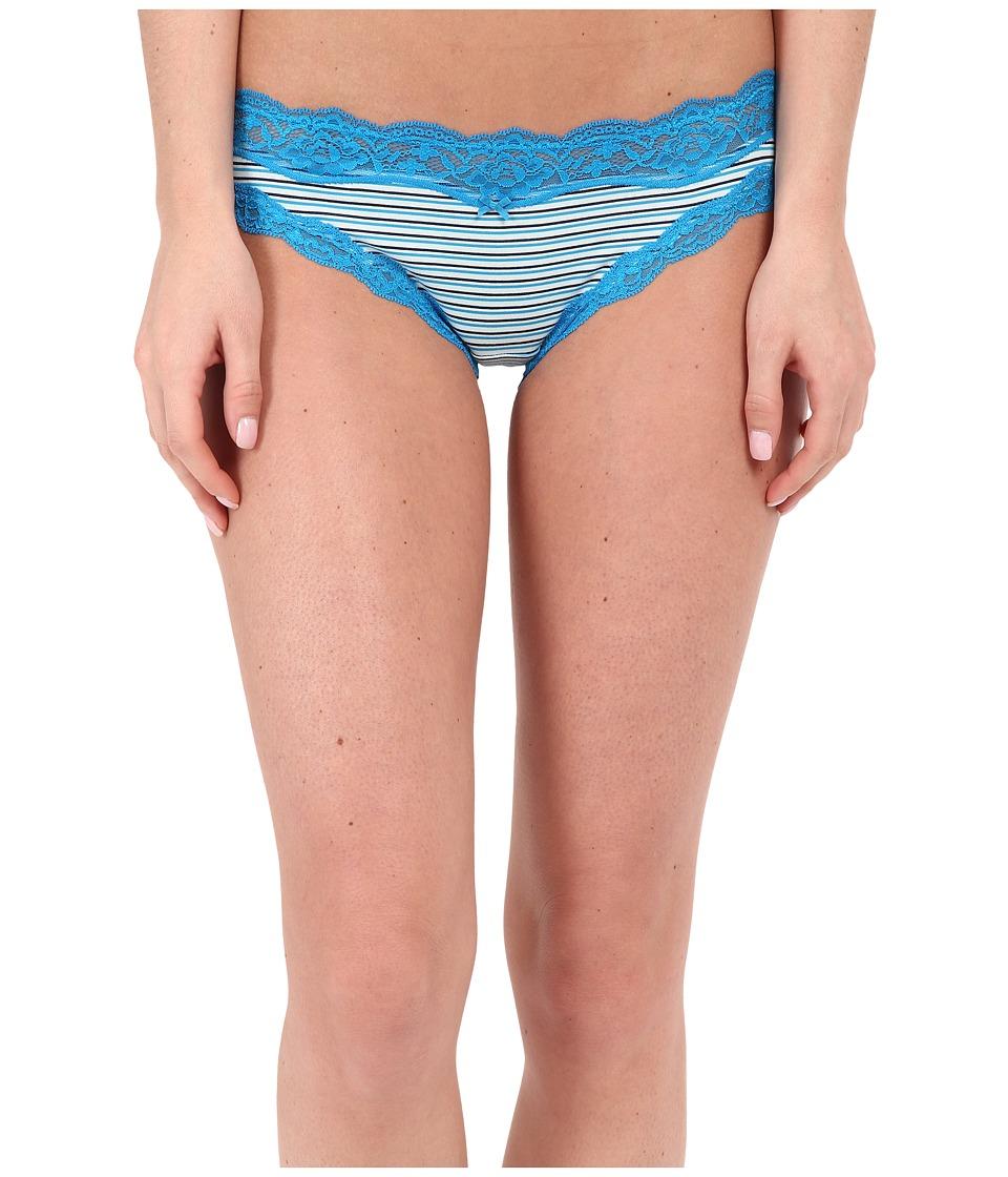 DKNY Intimates Downtown Cotton Bikini Poolside Stripe Womens Underwear