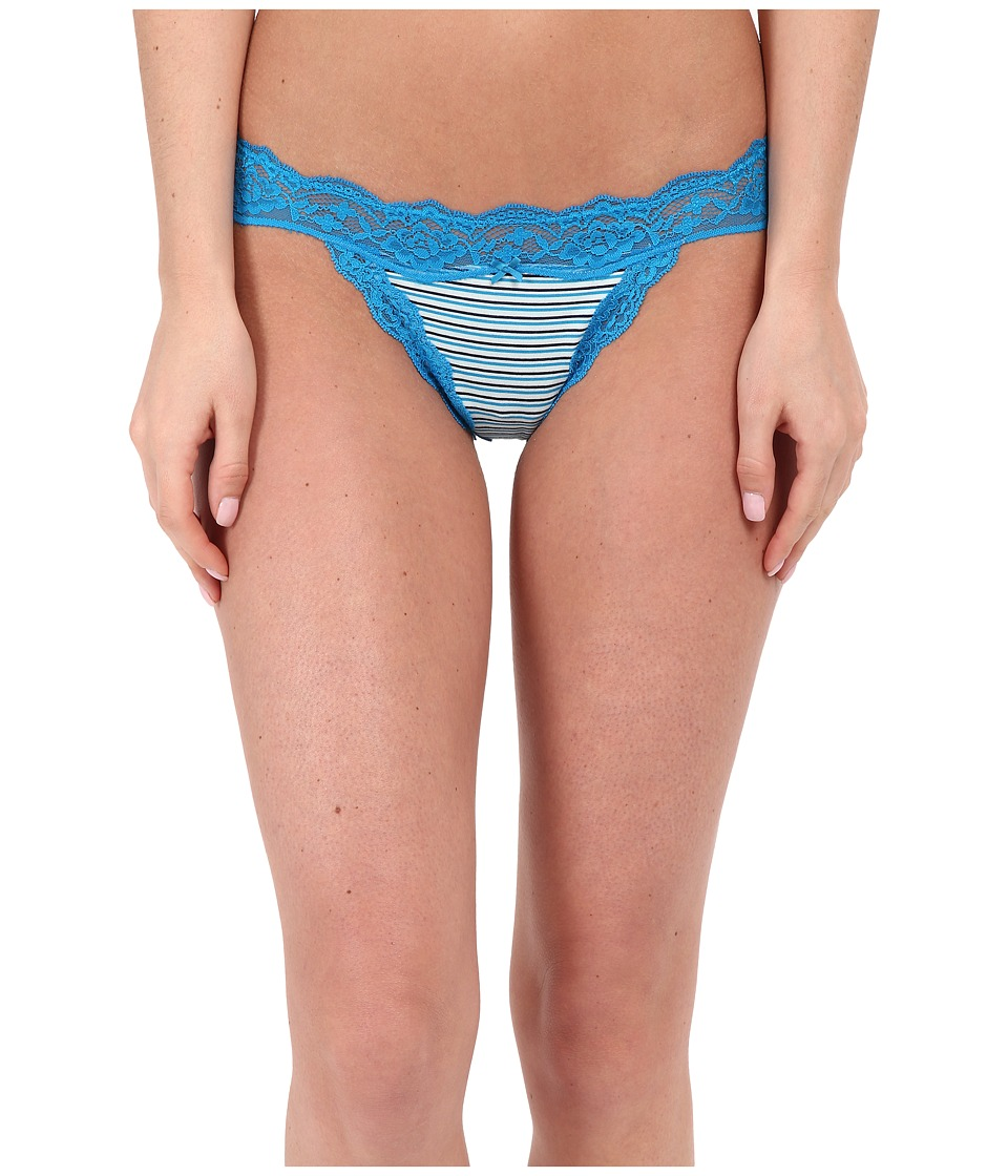 DKNY Intimates Downtown Cotton G String Poolside Stripe Womens Underwear