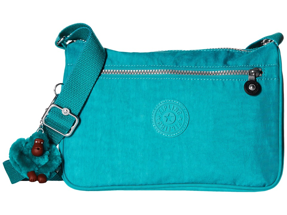 Kipling - Callie Handbag (Brilliant Jade) Handbags