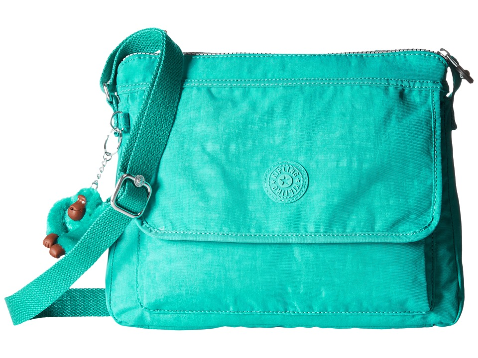 Kipling Aisling Crossbody Bag Brilliant Jade Handbags