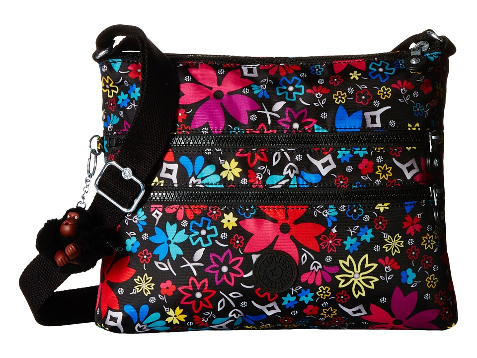 Kipling Alvar Printed Crossbody Bag Mod Floral Cross Body Handbags