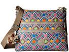 Kipling Alvar Printed Crossbody Bag (Geometric Ember)