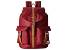 Herschel Supply Co. Dawson (Windsor Wine/Tan Synthetic Leather)