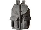 Herschel Supply Co. Dawson (Raven Crosshatch/Black Synthetic Leather)