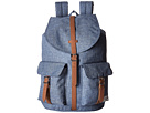 Herschel Supply Co. Dawson (Limoges Crosshatch/Tan Synthetic Leather)