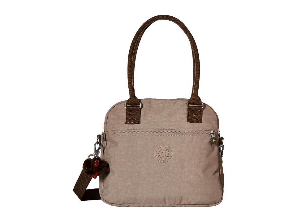 Kipling Cadie Handbag Chestnut Combo Satchel Handbags