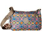 Kipling Callie Printed Handbag (Geometric Ember)