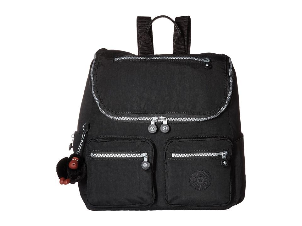 Kipling Georgina Black Handbags