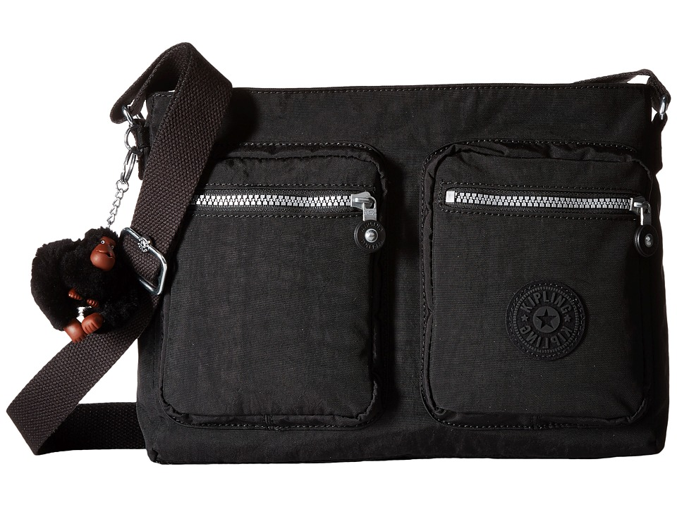 Kipling - Coralie (Black) Cross Body Handbags