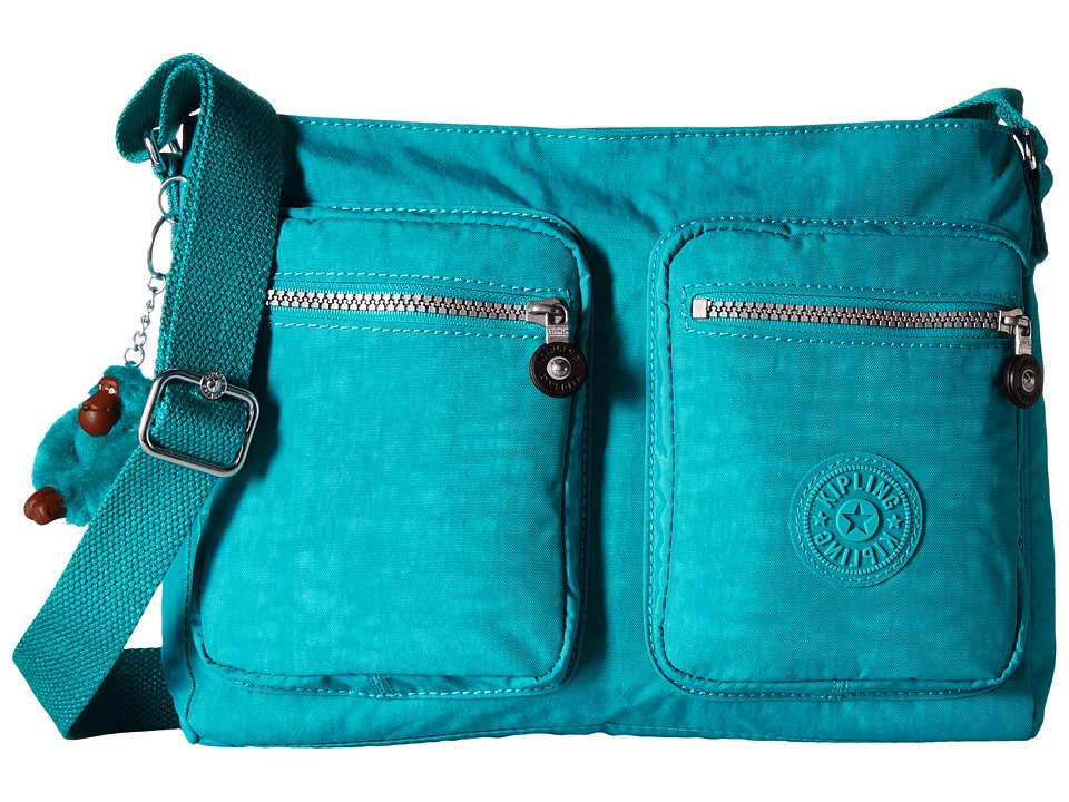 Kipling - Coralie (Brilliant Jade) Cross Body Handbags