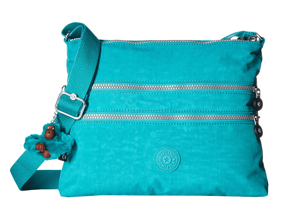 Kipling Alvar Crossbody Bag Brilliant Jade Cross Body Handbags