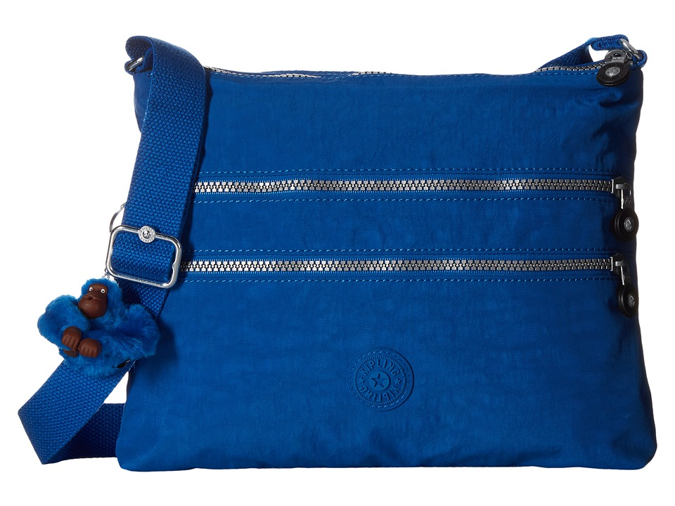 Kipling Alvar Crossbody Bag French Blue Cross Body Handbags