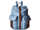 Herschel Supply Co. Dawson (Chambray Crosshatch/Tan Synthetic Leather)