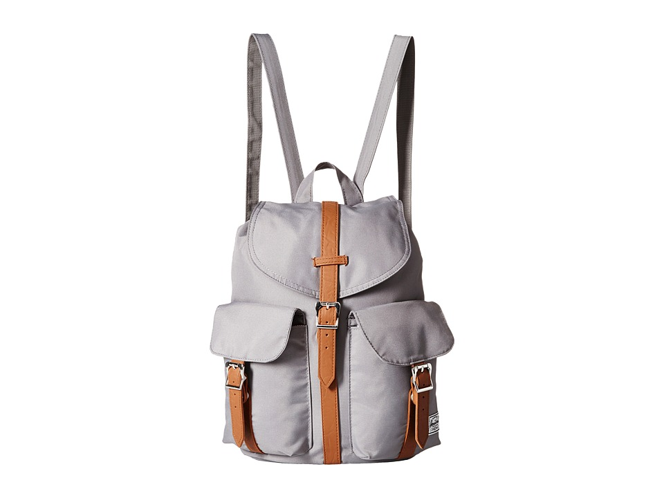 Herschel Supply Co. Dawson Grey/Tan Synthetic Leather Bags