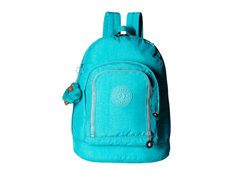 Kipling - Hiker Expandable Backpack (Brilliant Jade) Backpack Bags