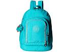 Kipling Hiker Expandable Backpack (Brilliant Jade)