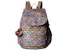 Kipling Ravier Printed Backpack (Geometric Ember)