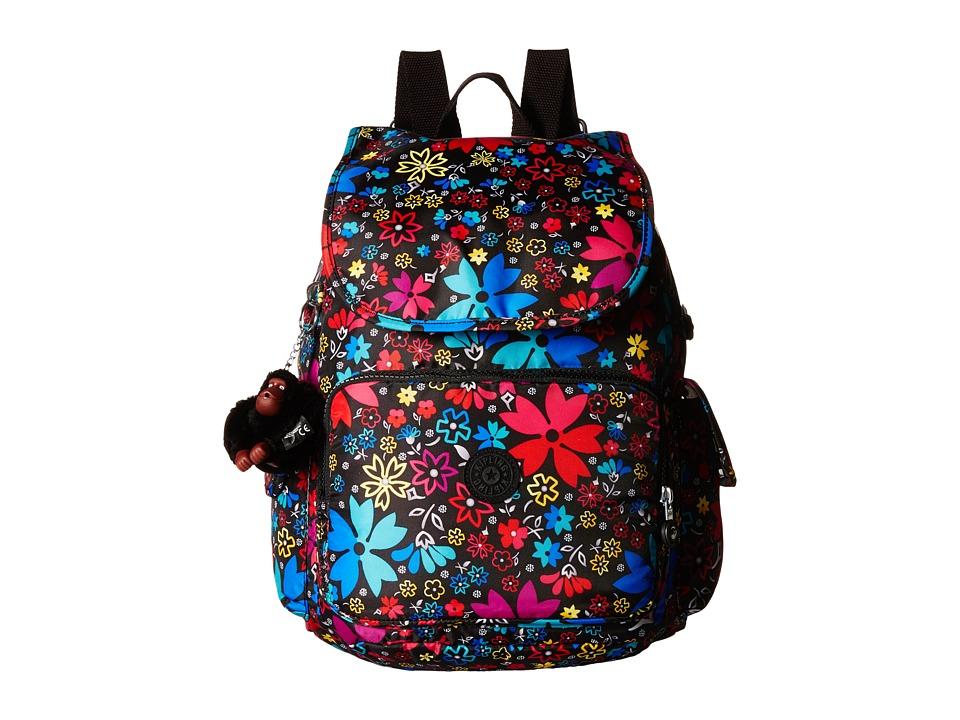 Kipling Ravier Printed Backpack Mod Floral Backpack Bags