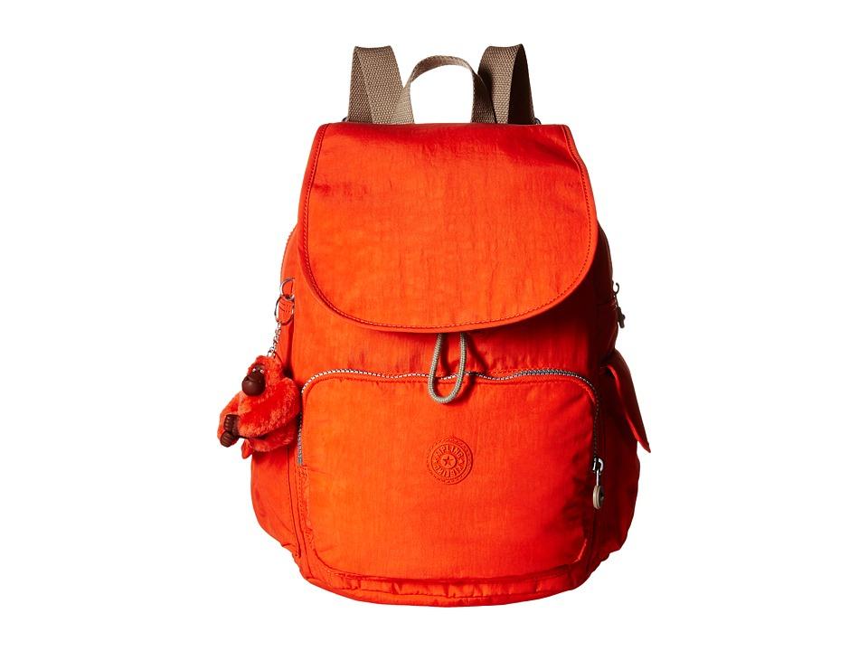 Kipling Ravier Backpack Imperial Orange Chestnut Combo Backpack Bags