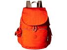 Kipling Ravier Backpack (Imperial Orange Chestnut Combo)