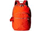 Kipling Seoul Backpack with Laptop Protection (Imperial Orange Chestnut Combo)