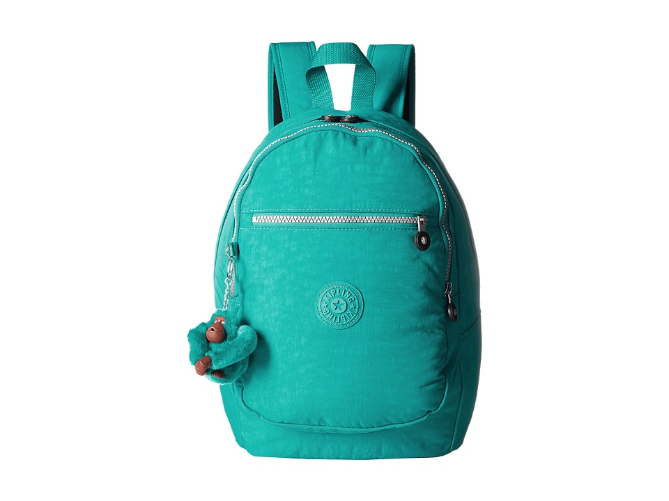 Kipling Challenger II Backpack Brilliant Jade Backpack Bags