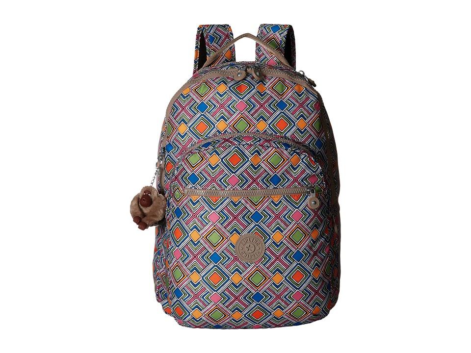 Kipling - Seoul Computer Backpack (Geometric Ember) Backpack Bags