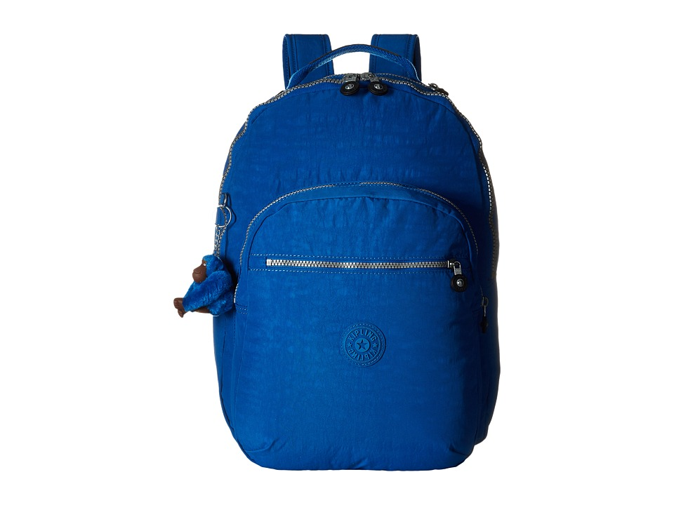 Kipling - Seoul Backpack with Laptop Protection (French Blue) Backpack Bags