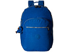 Kipling Seoul Backpack with Laptop Protection (French Blue)