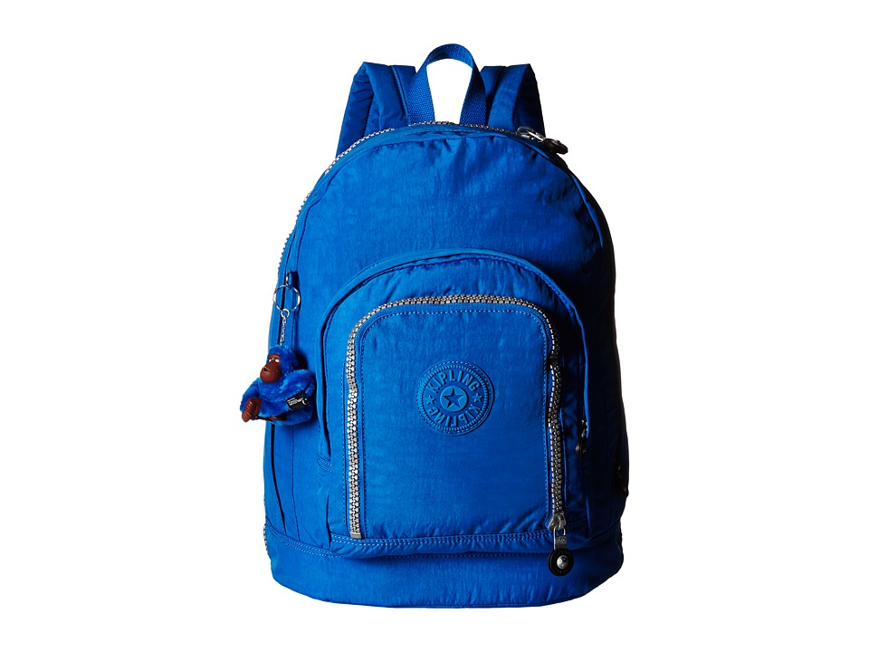 Kipling - Hiker Expandable Backpack (French Blue) Backpack Bags