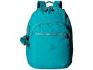 Kipling Seoul Backpack with Laptop Protection (Brilliant Jade)